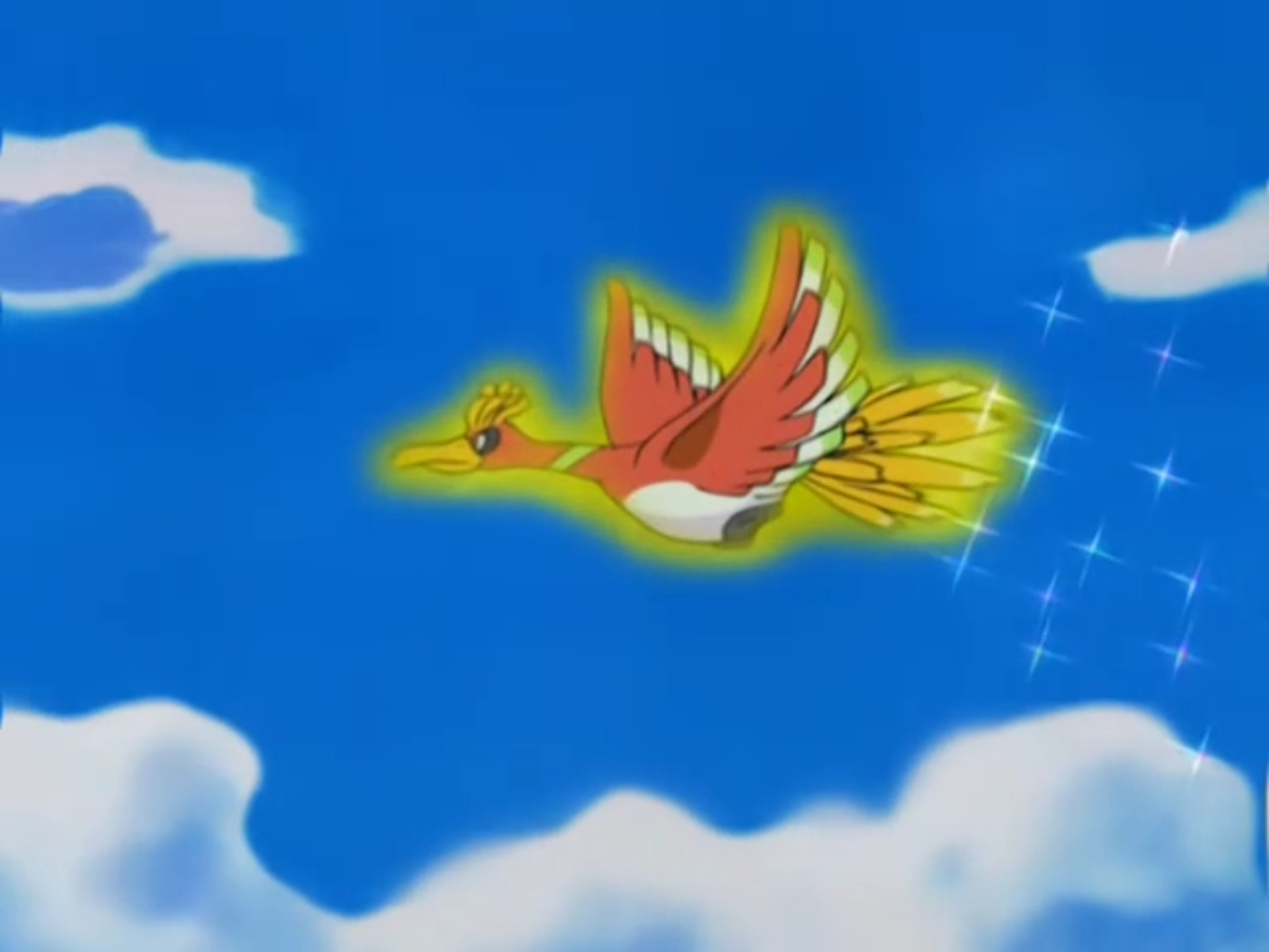 Ho Oh Anime Pok 233 Mon Wiki Fandom Powered By Wikia