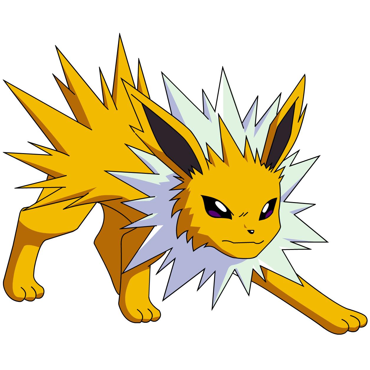Jolteon là pokemon nhanh và mạnh, thích hợp cho đánh gym