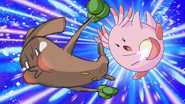 Nurse Joy Chansey Double Slap