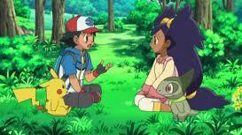 File:Iris,Ash, Pikachu and Axew.jpg