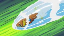 Ash Buizel Aqua Jet