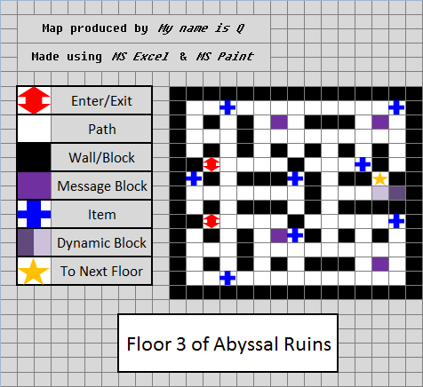 Abyssal ruins pok mon wiki fandom powered by wikia for Floor 2 map swordburst 2