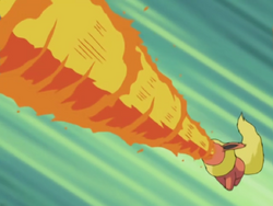 Savannah Flareon Flamethrower