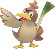 083Farfetch'd Pokemon Super Mystery Dungeon