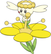 669Flabébé Yellow Flower XY anime