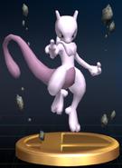 Mewtwo trophy SSBB