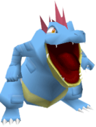160Feraligatr Pokemon Stadium