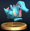 Totodile trophy SSBB