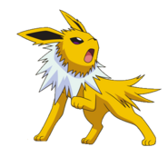 135Jolteon BW anime
