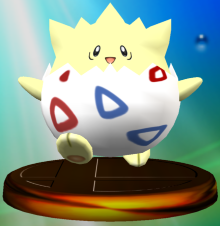 File:Togepi trophy SSBM.png