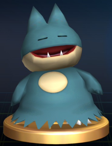 File:Munchlax trophy SSBB.png
