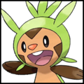 Generation VI Button - Chespin