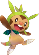 650Chespin Pokémon Super Mystery Dungeon
