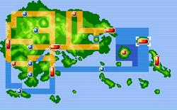 Mossdeep City Map