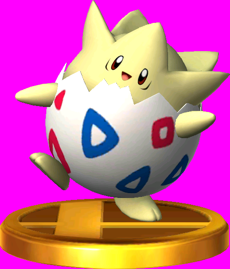 Togepi trophy SSB3DS