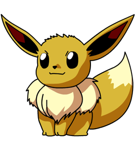 File:133Eevee OS anime.png