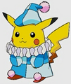 Pikachu as a Court Jester