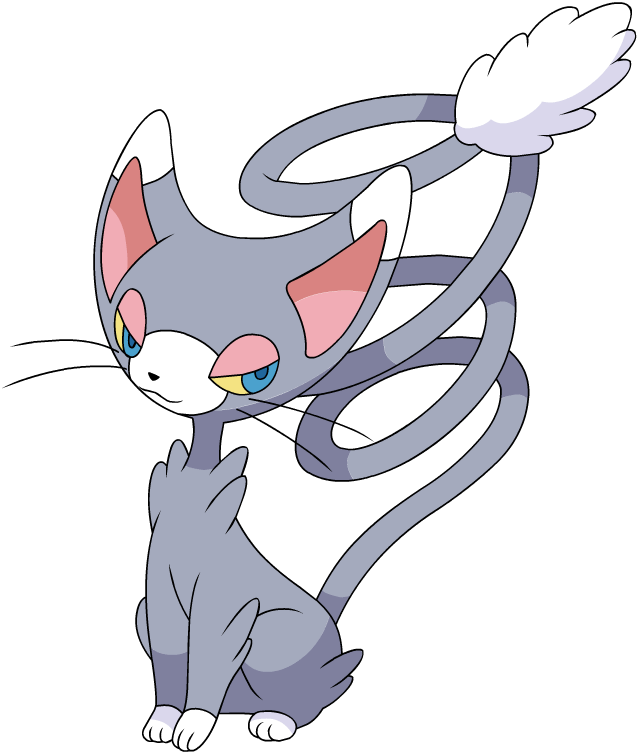 Glameow Pok 233 Mon Wiki Fandom Powered By Wikia