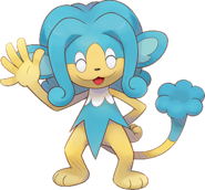 516Simipour Pokemon Super Mystery Dungeon