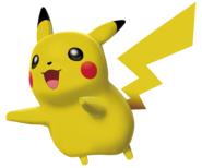 025Pikachu Pokemon Battle Revolution