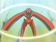 Deoxys Defense Forme anime