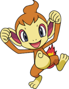 390Chimchar DP anime 2