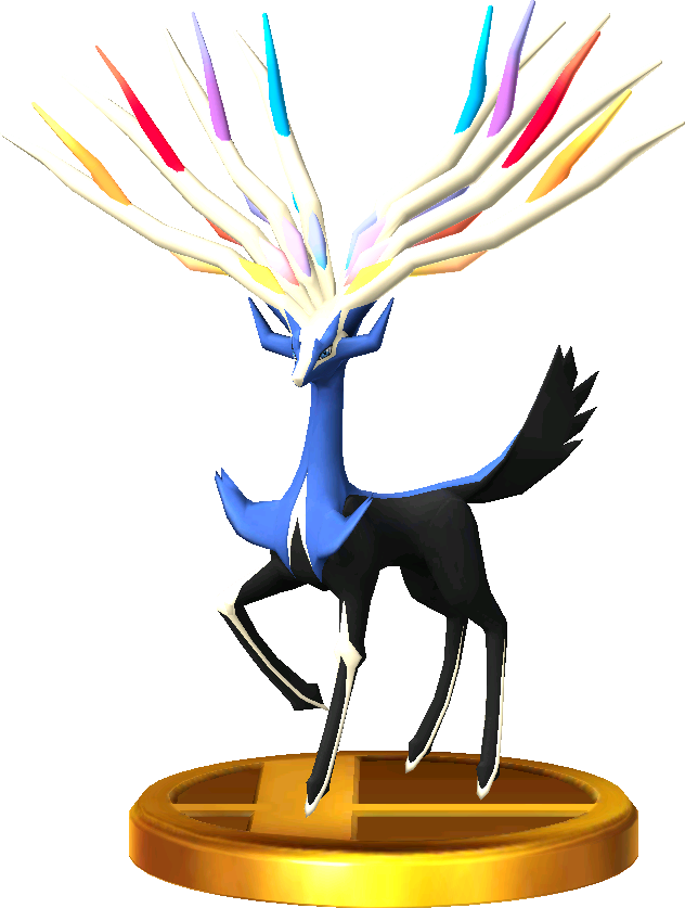 Xerneas trophy SSB3DS