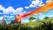 Pyroar Flamethrower
