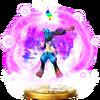 Mega Evolution (Lucario) trophy SSBWU