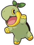 387Turtwig DP anime 8