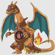 Charizard warrior
