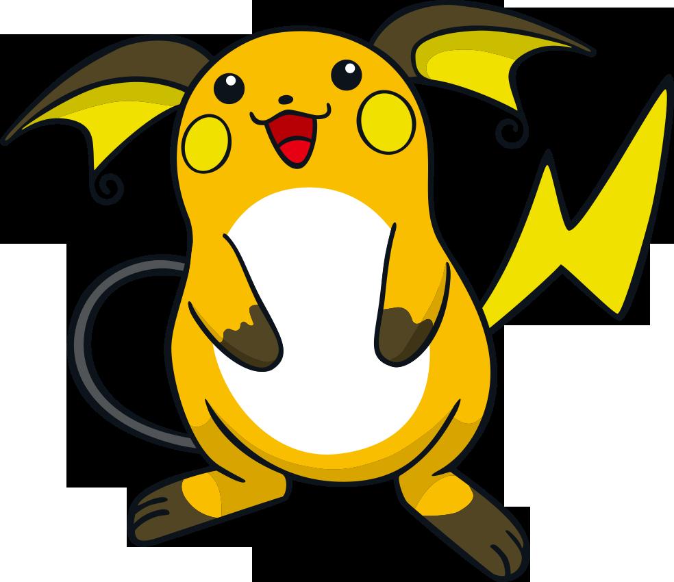Raichu Pokemon Petit Plush Keychain