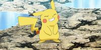 Mirror Ash's Pikachu