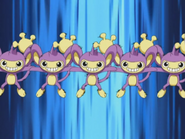Dawn Aipom Double Team