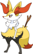 654Braixen XY anime