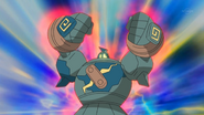 Ridley Golurk Strength