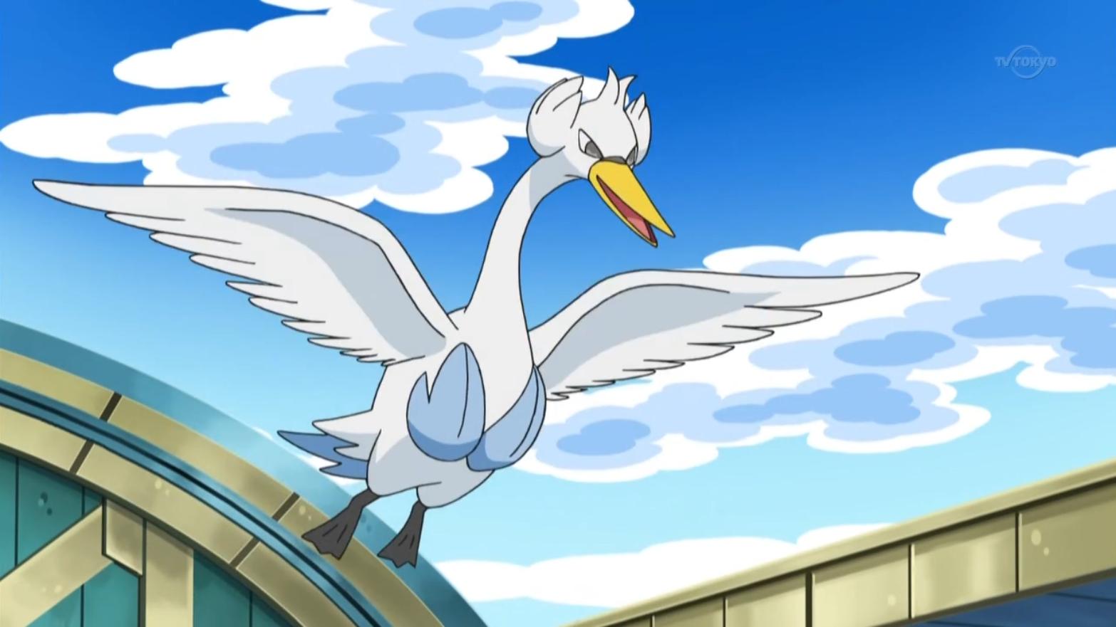 Skyla's Swanna (anime)...