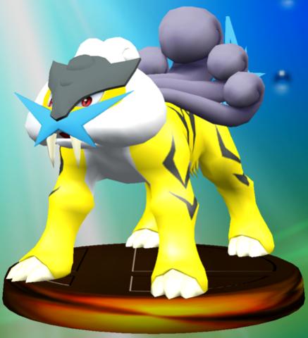 File:Raikou trophy SSBM.png