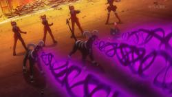 Team Flare Houndoom Dark Pulse