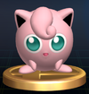 Jigglypuff trophy SSBB
