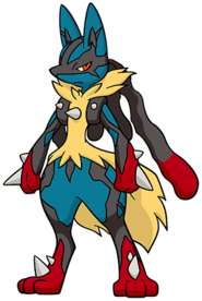 448Lucario Mega Dream