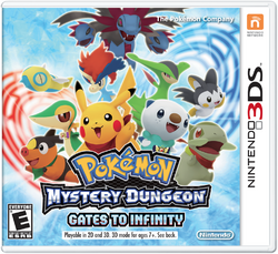 Pokemon Mystery Dungeon Gates to Infinity boxart