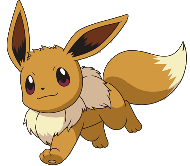 File:133Eevee BW anime.png