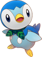 393Piplup Pokémon Super Mystery Dungeon