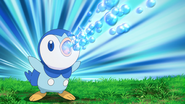 Dawn Piplup Bubble Beam
