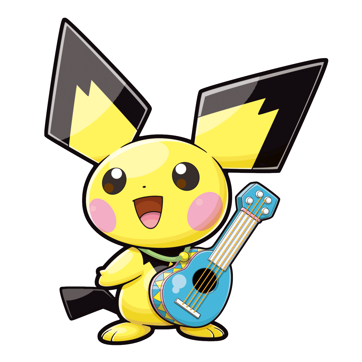 Top 7 Cute Plyaful Pichu Coloring Pages for Little Kids