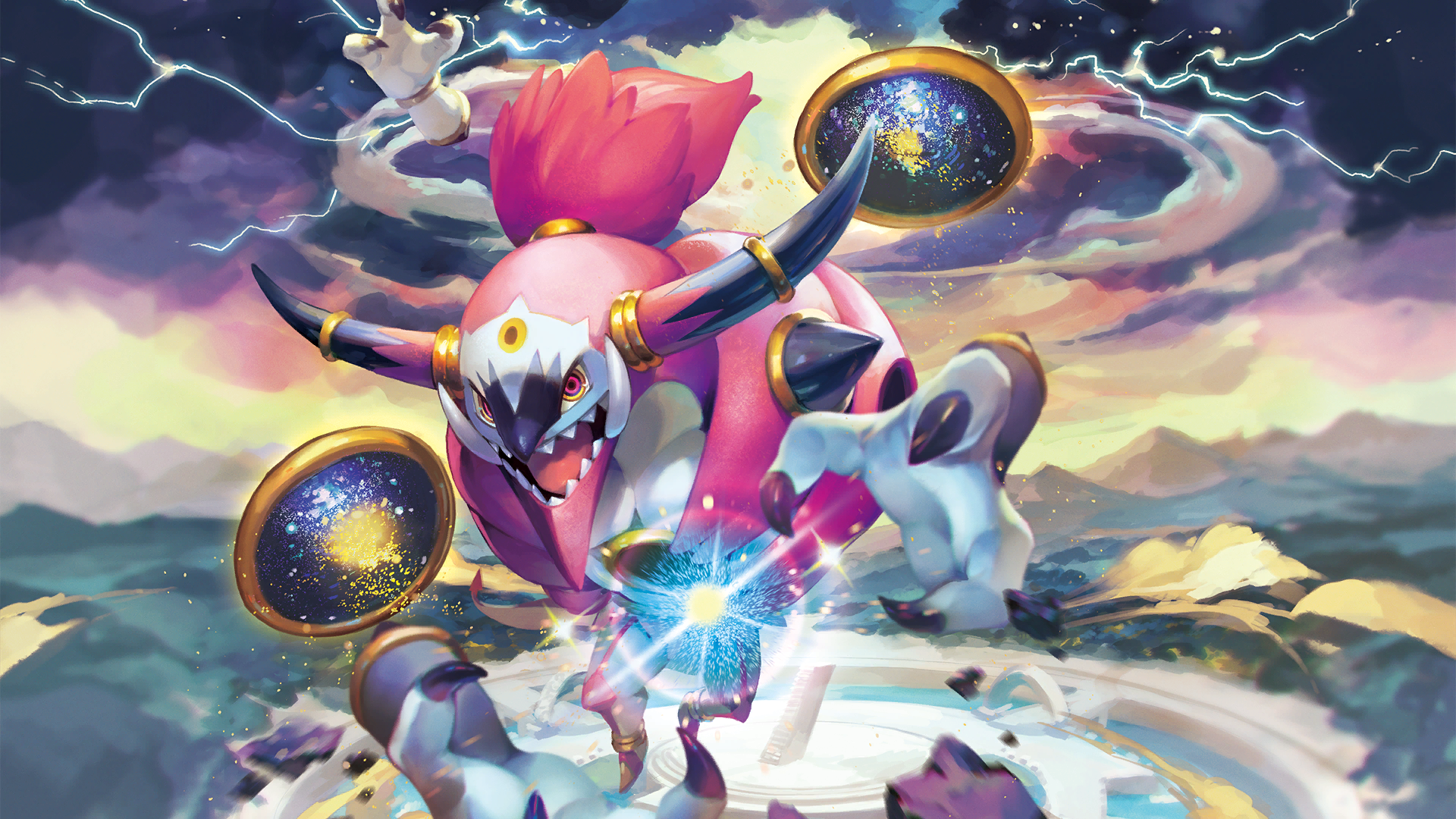 Hoopa pok mon wiki fandom powered by wikia for Dans x