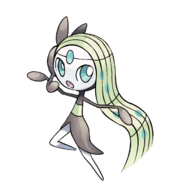 648Meloetta Pokemon 20th Anniversary
