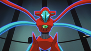 Deoxys green crystal Psychic