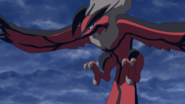 Yveltal Calmed Before Flying Away Peacefully